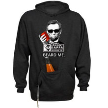 Premium BEARD ME. Hoodie With Beverage Holder