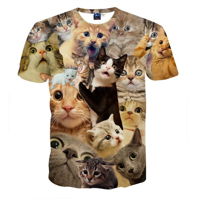 7000bbf90 Mr.1991 newest 3D Animal t-shirt for boys and girls funny magicl super