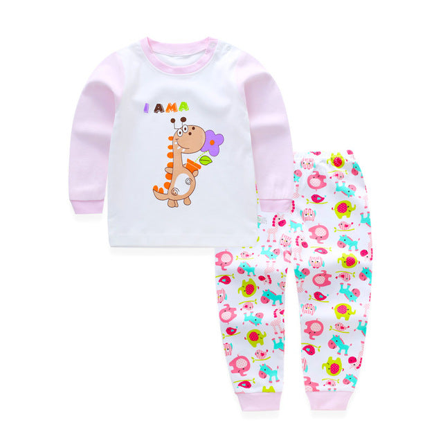 b9d604c066dcc Winter Baby Girls Clothing Set Toddler Baby Boy Outfits For Babies Girl  Pajamas Sets Kids Suit