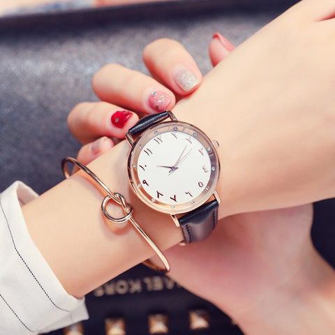 Rumailah - Rose Gold Arabic Watch - 4 Colours Available