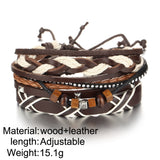 Multiple Layers Wood Beads Bracelets