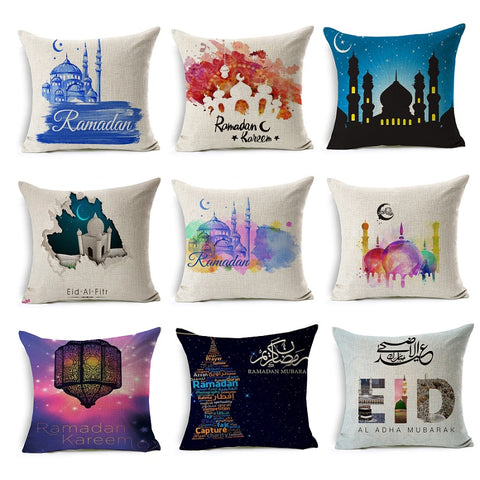 Festive Cushion Covers - Ramadan & Eid - Many Choices