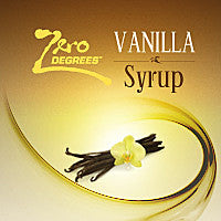 Vanilla Syrup - 1.5 Litre Bottle