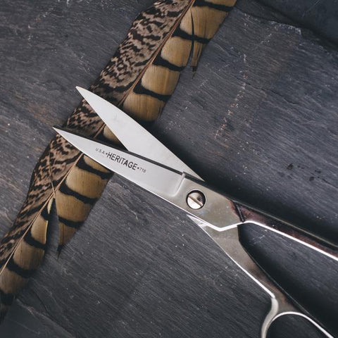 Klein Fabric Shears (Right Handed) by Twig & Horn