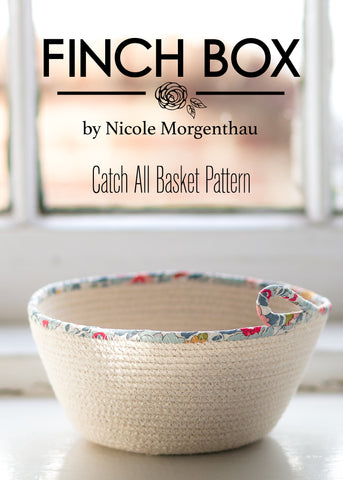 Finch Catch-All Basket Pattern
