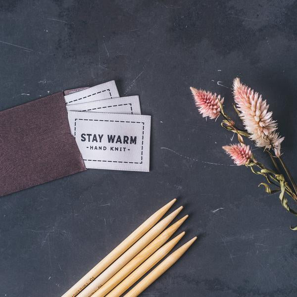 "Twig & Horn ""Stay Warm"" Tags"