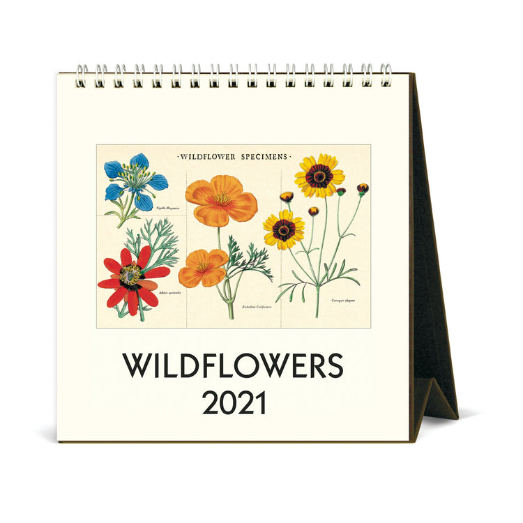 Desk Calendar - Wildfowers 2021
