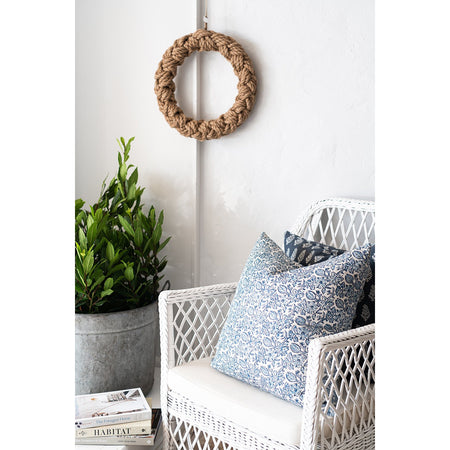Occasional Wicker Chair - White