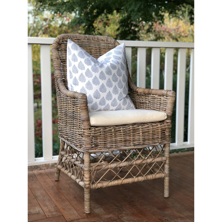 French Style Rattan Chair