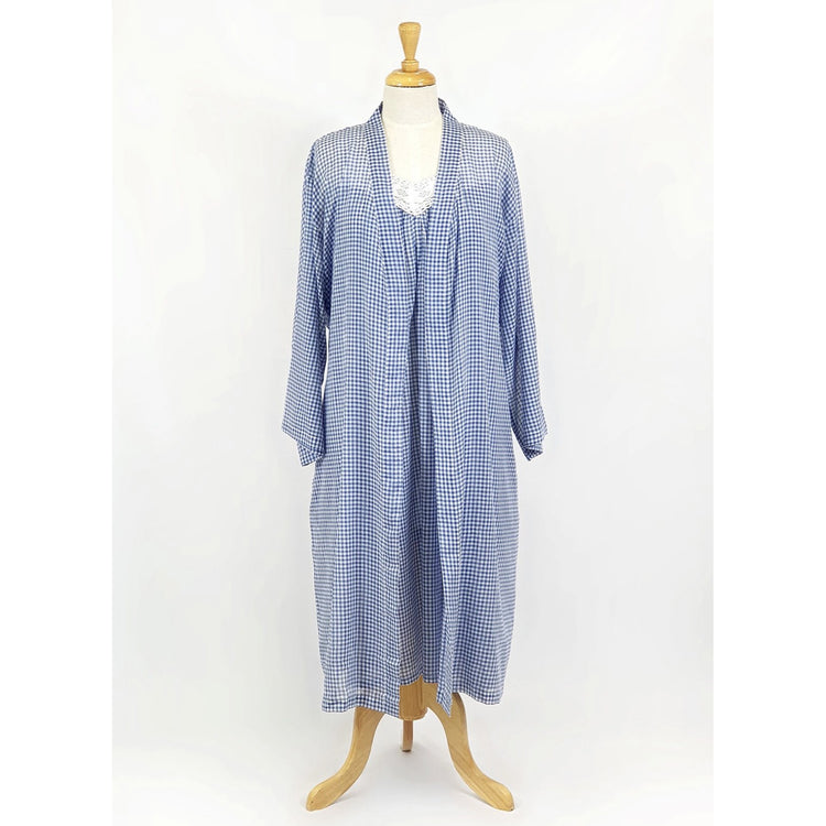 Robe - Blue Gingham