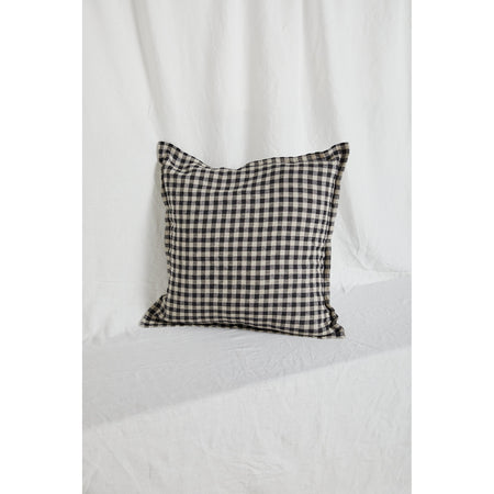 Gingham Linen Cushion Cover