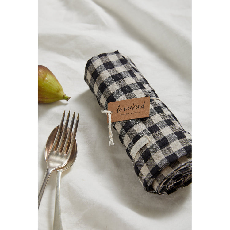 Gingham Linen Placemats