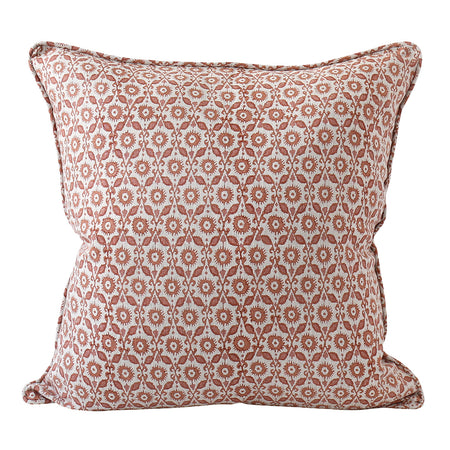 Suzani Cushion - Guava