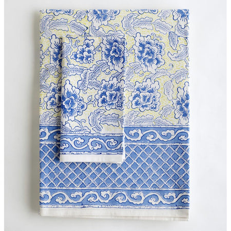 Malabar Coast - Tablecloth and Napkin Set