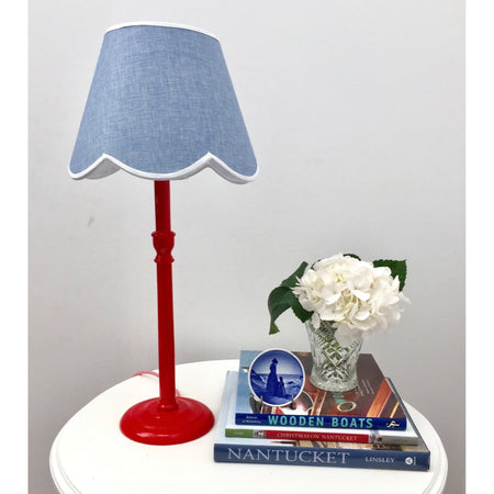 Lamp Base - Red