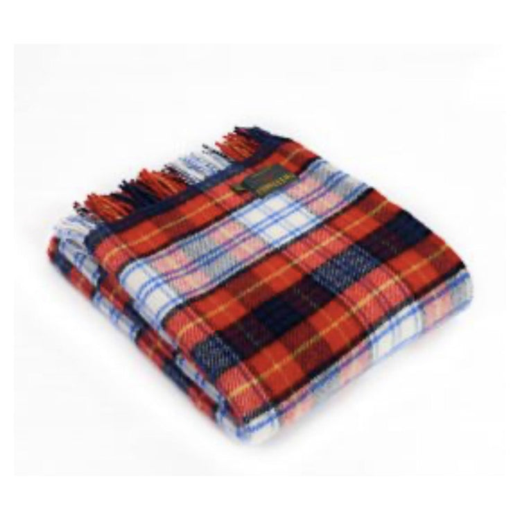 Tartan Throw Rug - Red Dress Gordon