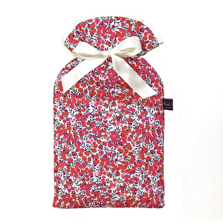 Hot Water Bottle - Liberty of London Wiltshire Red