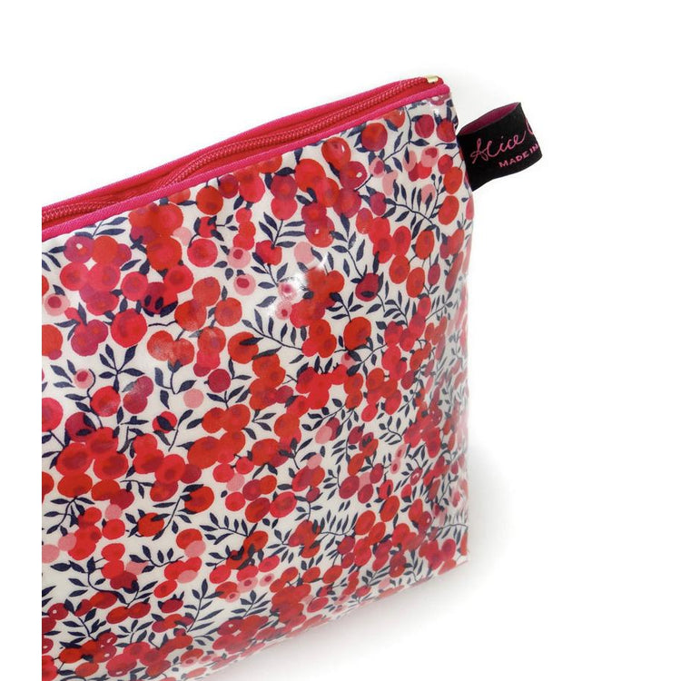 Wash Bag - Liberty of London Wiltshire Red