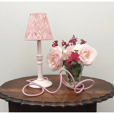 Lamp Base - Pale Pink