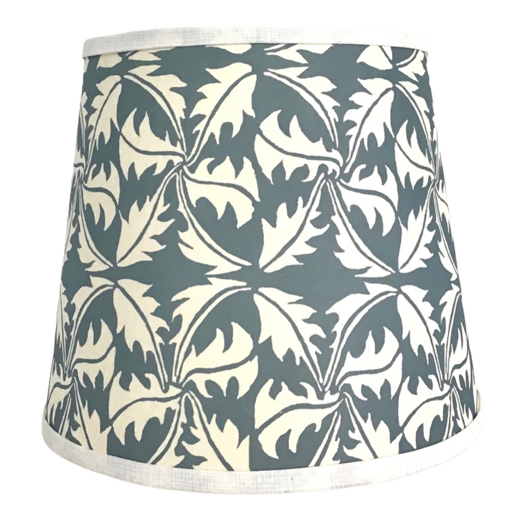 Paper Lampshade - Grey & White