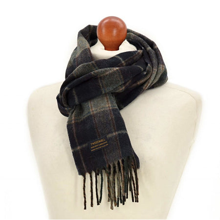 Scarf - Country Check Navy