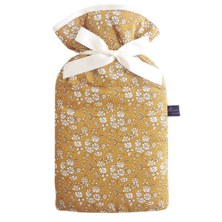 Hot Water Bottle - Liberty of London Capel Mustard