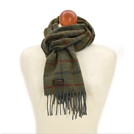 Scarf - Country Check Sage