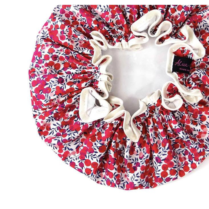 Shower Cap - Liberty of London Wiltshire Red