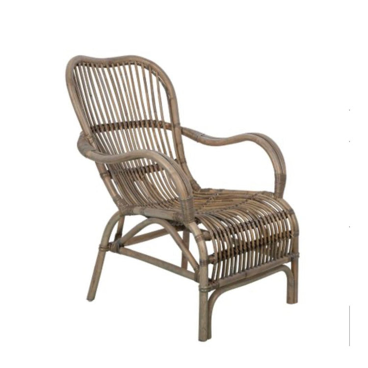 Armchair in Rattan