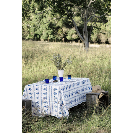 Dutch Blue and White - Tablecloth & Napkin Set