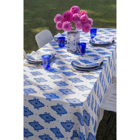 Cobalt Blue - Tablecloth & Napkin Set