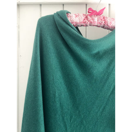 Poncho - Emerald Green