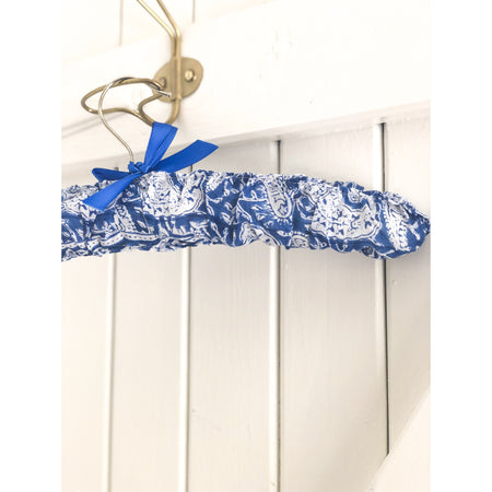 Bespoke Coat-Hanger in Blues