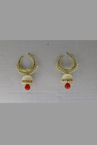 Pearl Bali Earrings
