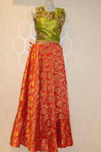 Orange Lehenga