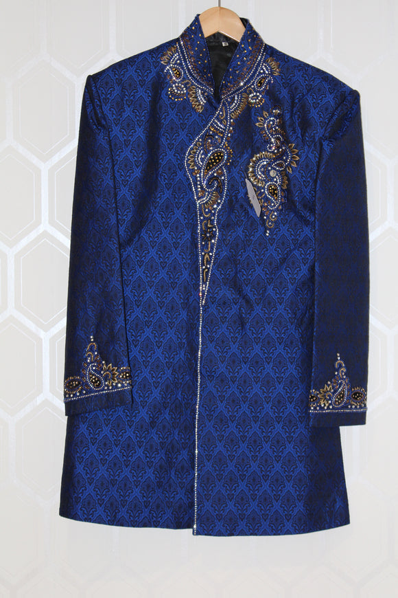 Royal Blue Sherwani