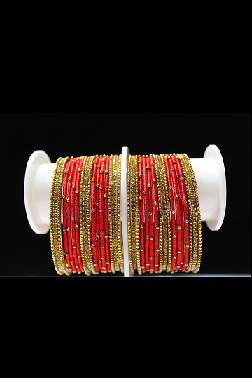 Bangles with Silky Appearance