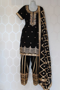Black Indian Suit