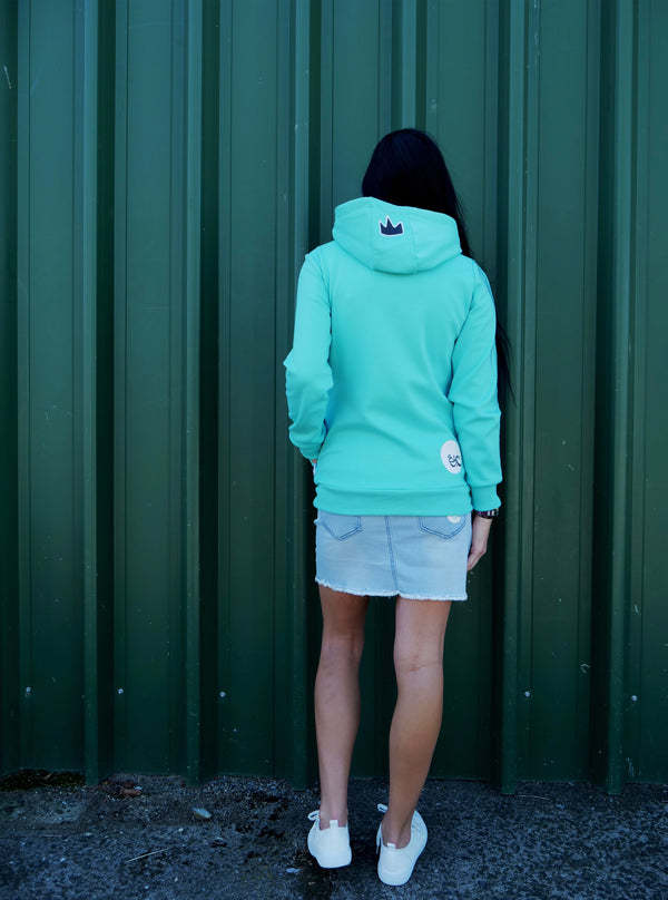 ETC Staples Hoodie Fleece Lined - Teal Blue (PRE ORDER)