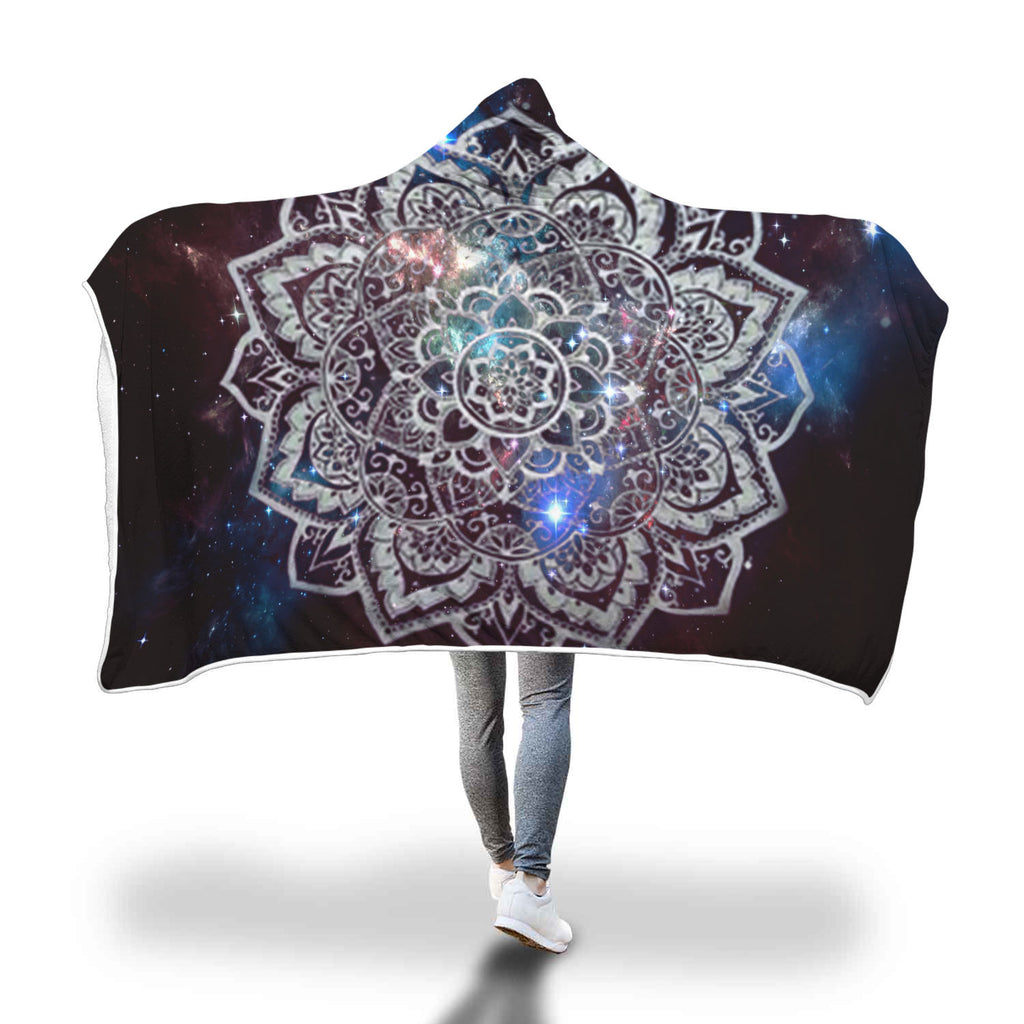 Hooded Blanket Mandala