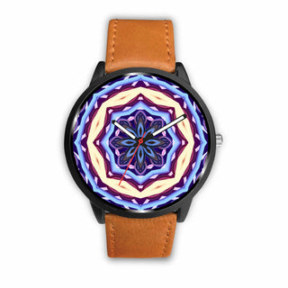 Watch Design Mandala Blue