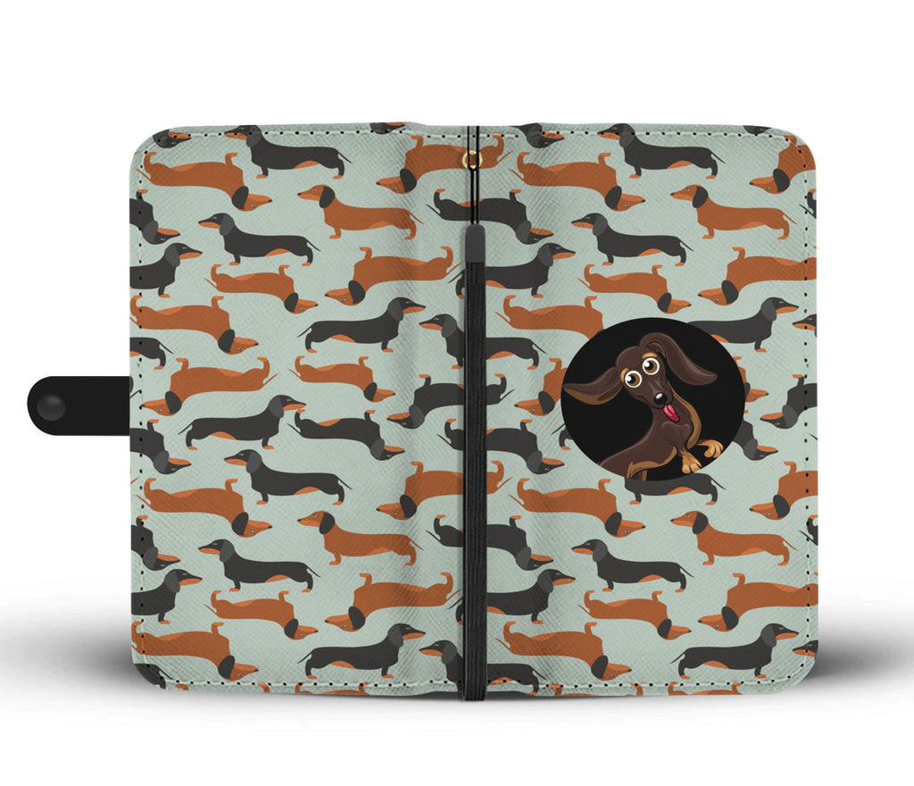 Wallet Case Dachshunds