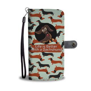 Wallet Case Dachshund 3