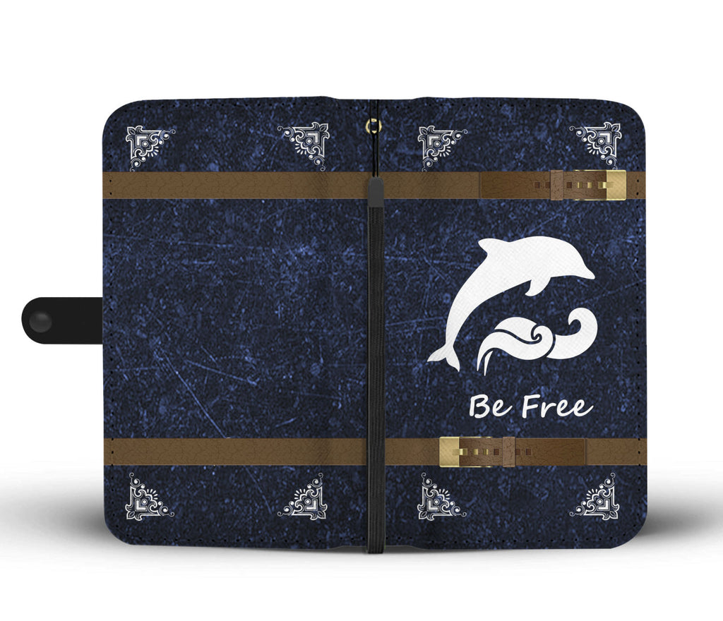 Wallet Case Dolphin