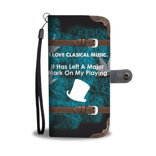 Wallet Case Quote Slash
