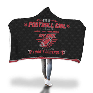 Hooded Blanket Atlanta Falcon