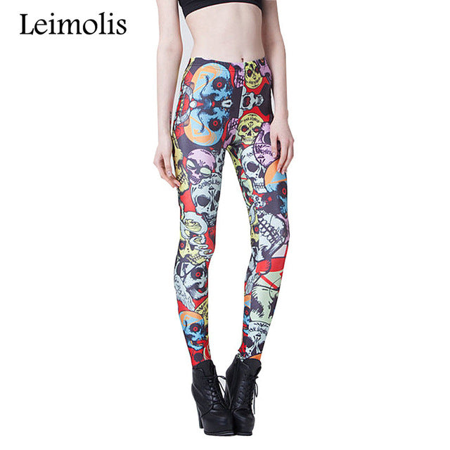 Leggings Gothic Retro
