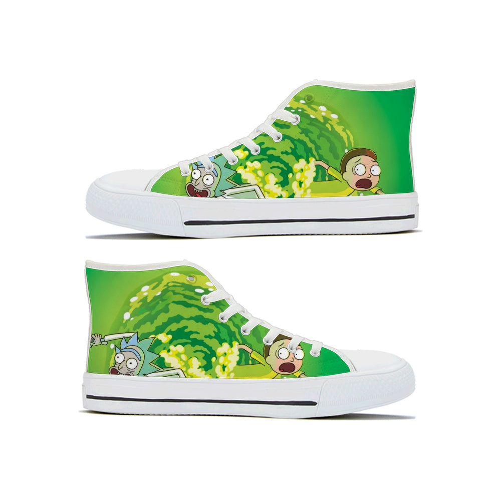 Shoes Rick And Morty