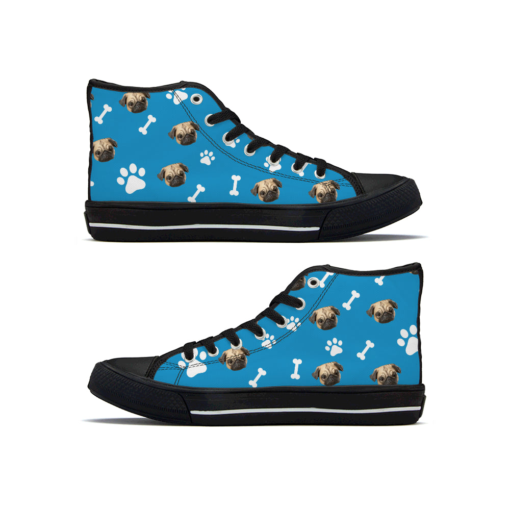 Custom Pet Shoes High