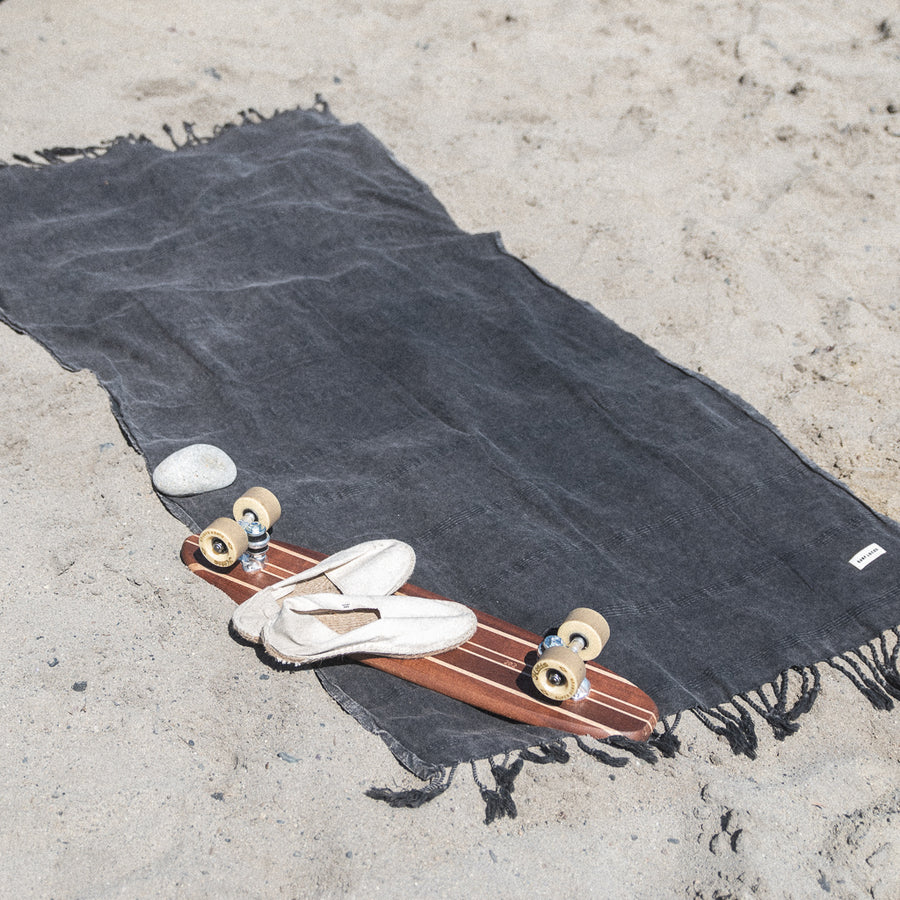surf locos 100% cotton towel blanket